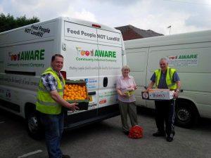 new foodaware van