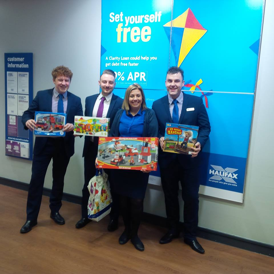 Halifax Bank supporting the Community